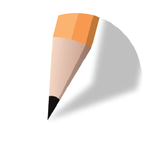 The jotform logo (a pencil tip)
