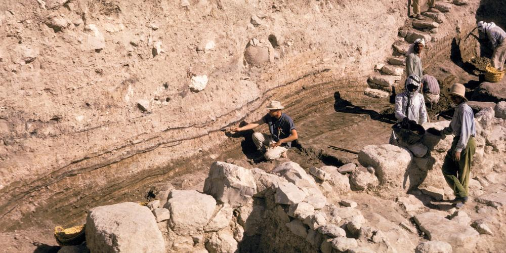 Field excavations at Tel Dothan