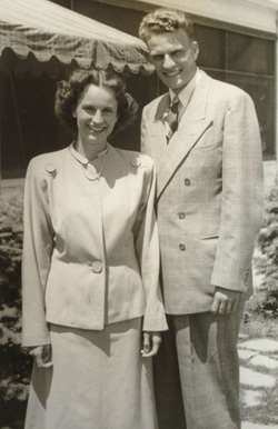 Billy and Ruth 1946