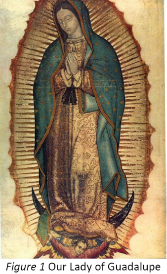 Our Lady of Guadalupe, an image of Mary