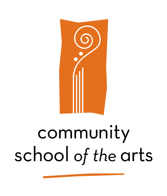 Community School of the Arts Logo - Color