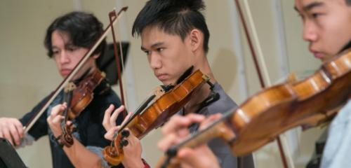 High School Violin Classes
