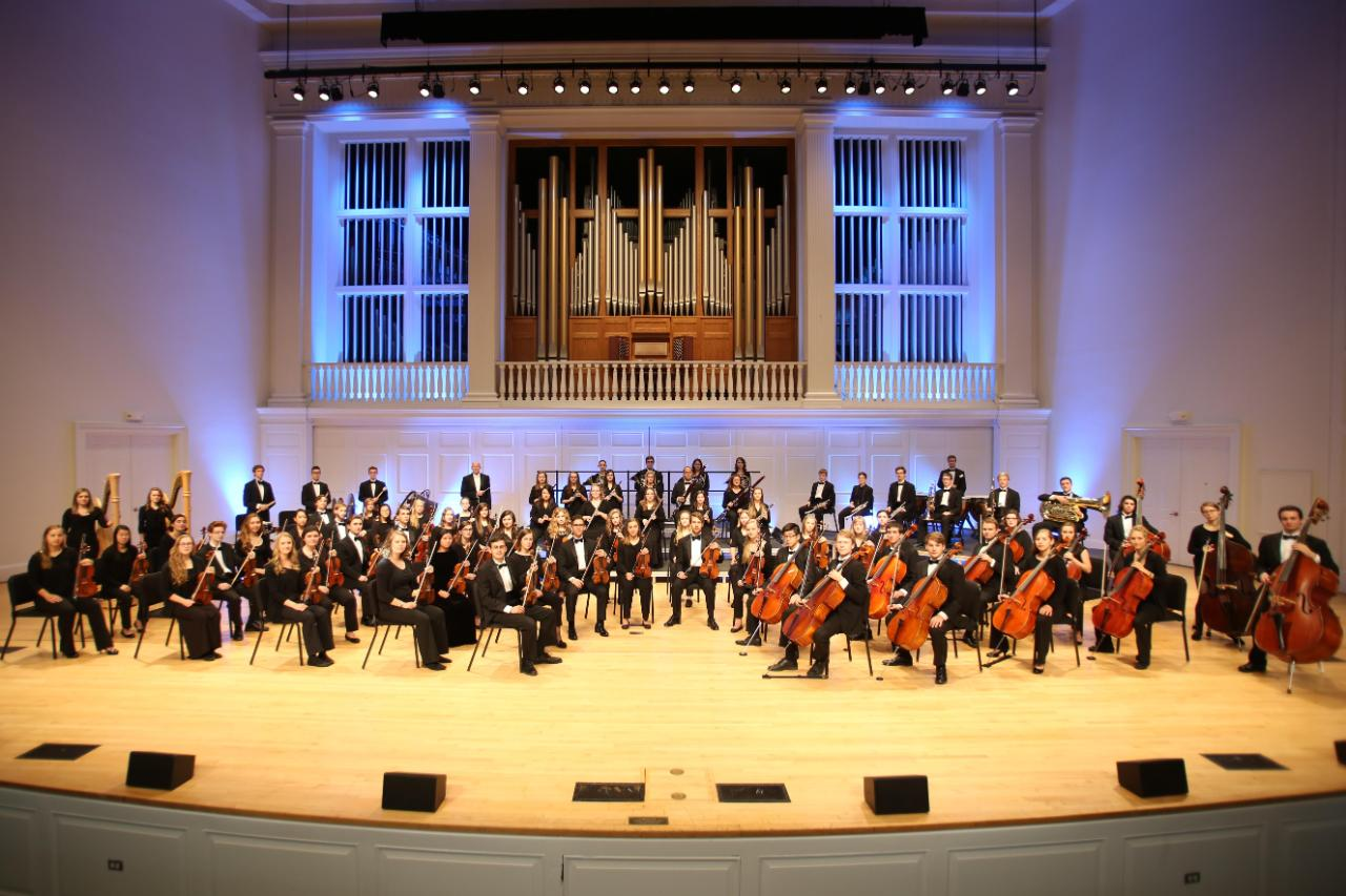 Wheaton College Symphony Orchestra in Edman Chapel