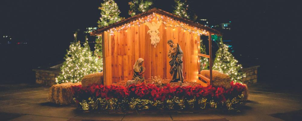 banner image of nativity scene
