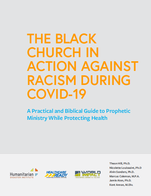 The Black Church in Action Against Racism During COVID-19 manual cover