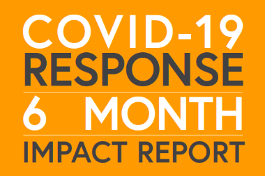 HDI 6 Month COVID19 Response Report Cover