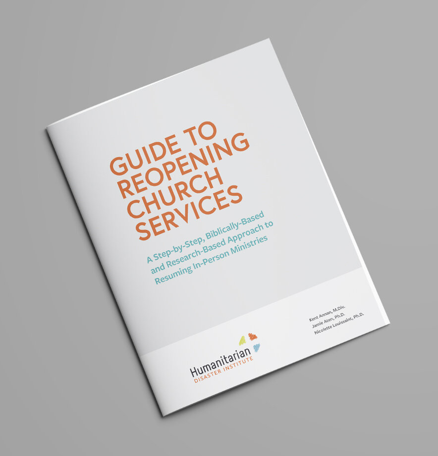 Guide to Reopening Church Services manual cover