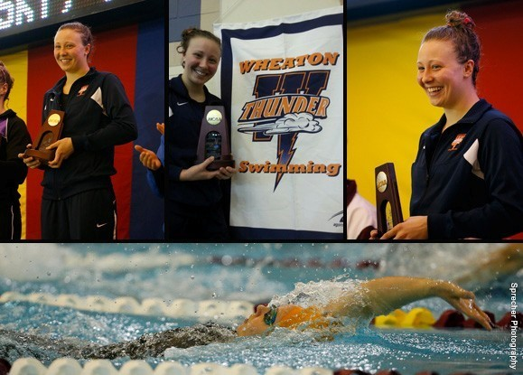 Kristy Nitz Wheaton College iL Swimming Champion