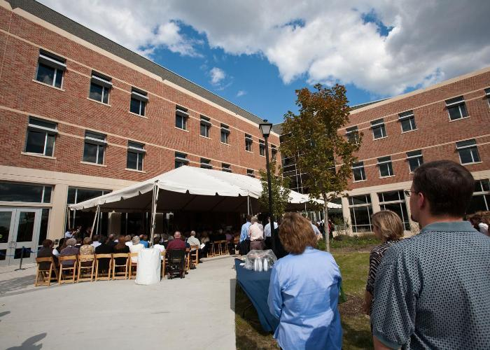 Meyer Science Center Dedication Wheaton College IL
