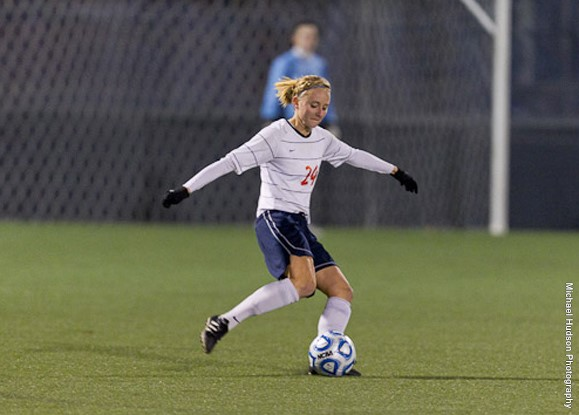 Wheaton College IL Women's Soccer Player