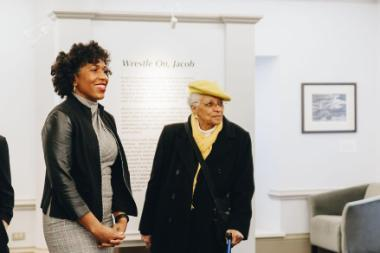 Lt. Governor Juliana Stratton visits Blanchard Hall