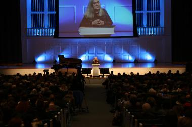 Marilynne Robinson keynote address at Theology Conference