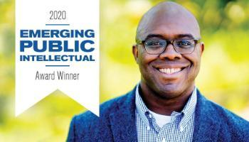 Esau McCaulley Winner of 2020 Emerging Public Intellectual Award