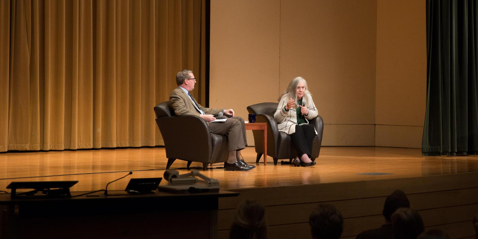 Marilynne Robinson and Dr. Ryken at Theology Conference Event