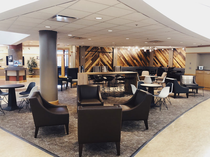 Beamer Center Student Lounge Area