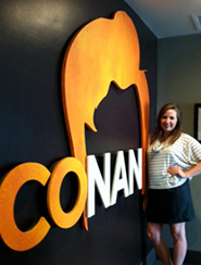 Suzanna at Conan in LA