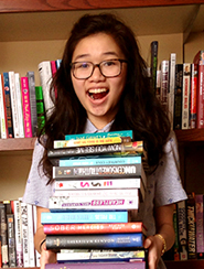 Tory Chin and her books