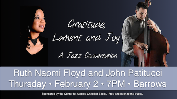Ruth Floyd and John Patitucci Poster