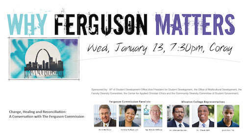 Ferguson Commission Event Poster