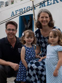 Wheaton alumnus Brian Blackburn and family