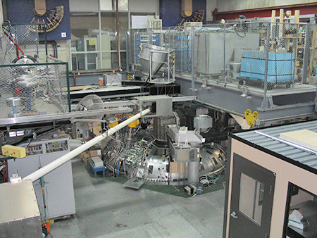 The MST experimental facility at the University of Wisconsin - Madison.