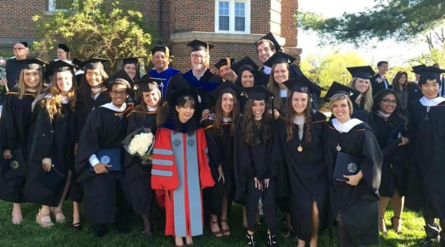 Marriage and Family Therapy Graduates 2017 Wheaton College Graduate School
