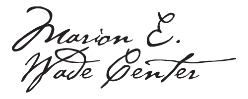 Marion E Wade Center Logo (without the)