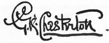 Chesterton signature