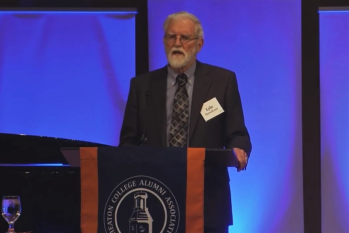 Lyle Dorsett at Marj Mead 2018 Alumna Award